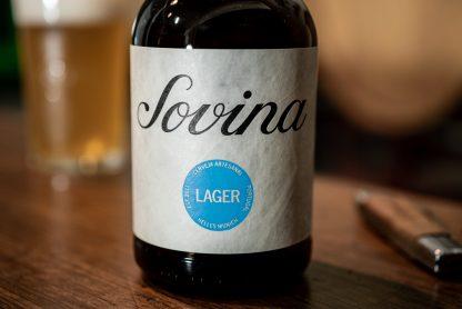 Cerveja Artesanal Sovina Lager 33cl