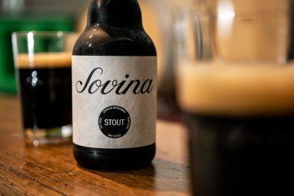 Cerveja Artesanal Sovina Stout 33cl