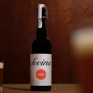 Cerveja Artesanal Sovina Amber 75cl