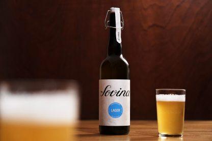 Cerveja Artesanal Sovina Lager 75cl