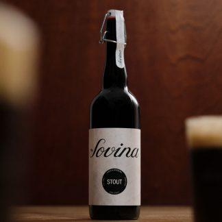 Cerveja Artesanal Sovina Stout 75cl